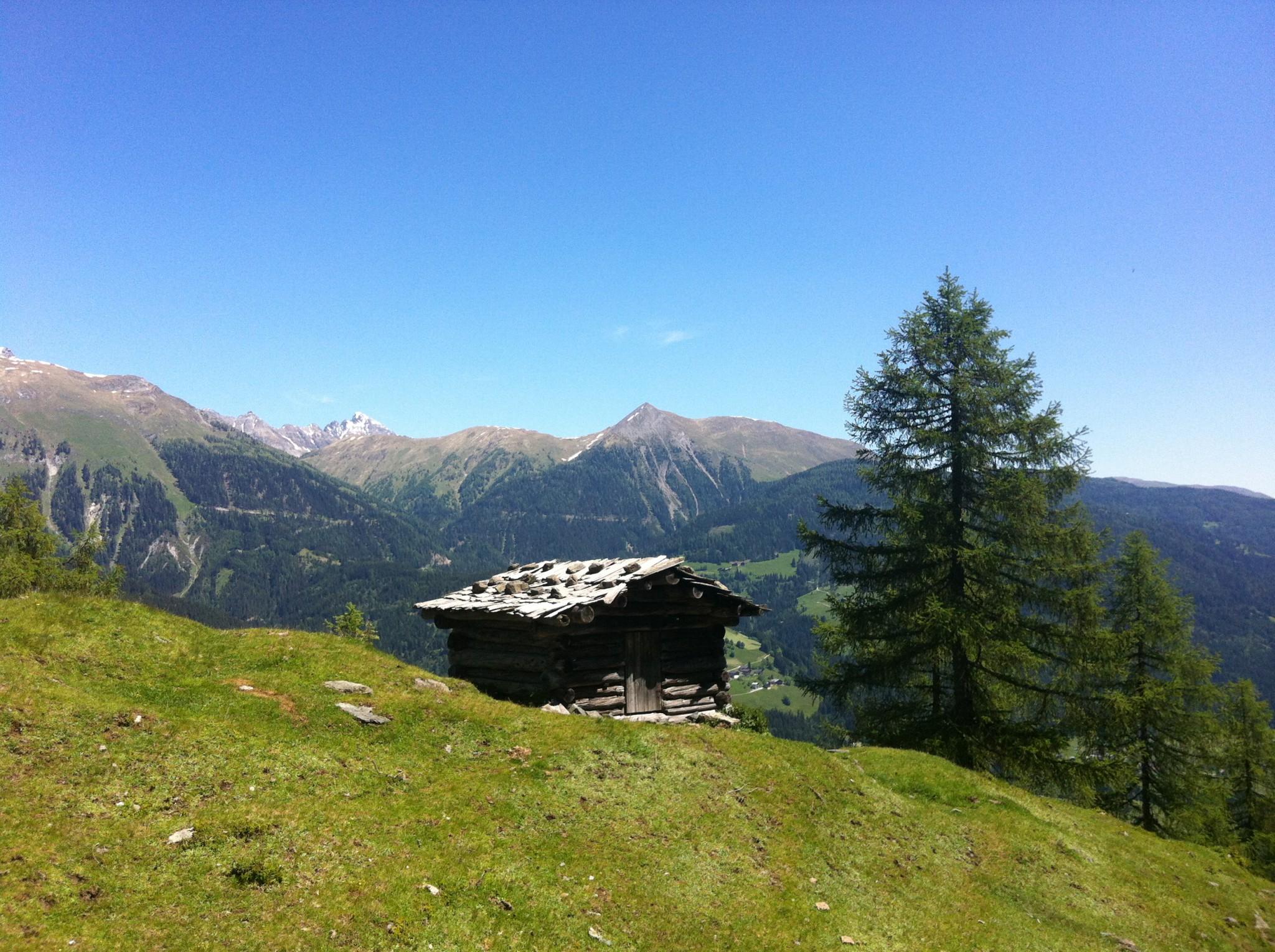 Hütte_am_Gemskofelweg_KarnischeAlpen