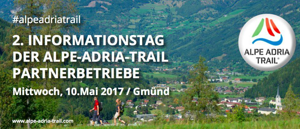 Infotag für Alpe-Adria-Trail Partner