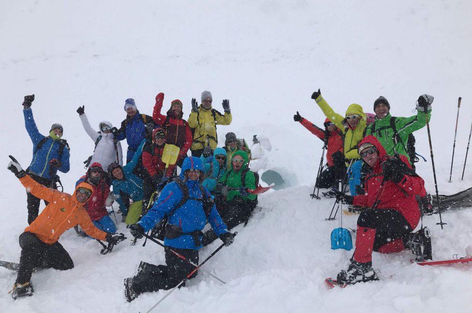 Bergwanderführer machen sich winterfit