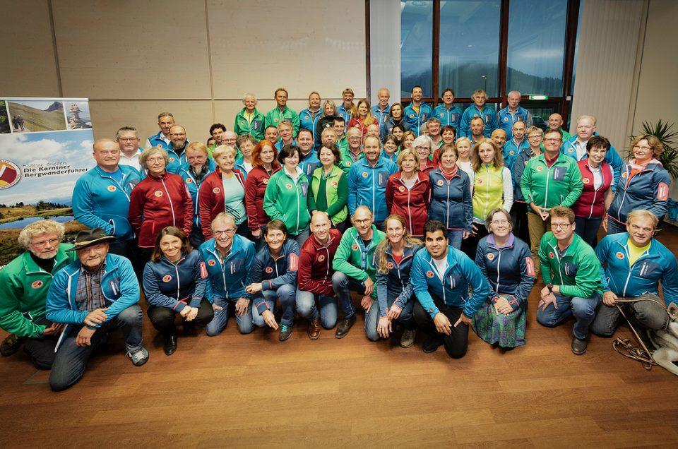 Treffpunkt für Wanderführer aus ganz Kärnten