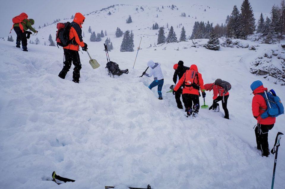 Wintertouren brauchen Übung