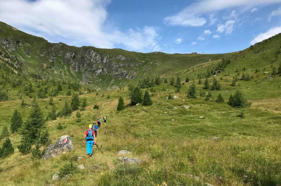 Bergwanderführer wieder unterwegs